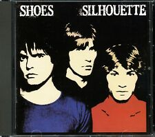 THE SHOES Silhouette 1984 CD Bonus Tracks/Power Pop/More Shoes In My Store NMINT