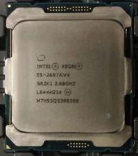 More details for intel xeon e5-2697av4 16-core 2.60ghz lga2011-3 40mb cache cpu processor sr2k1