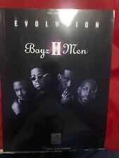 Boyz II Men Evolution 1999 Piano Vocal Guitar Sheet Music Paperback Book