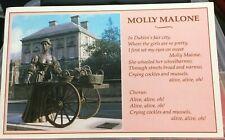 Molly Malone Hard Paper Irish Design Print With Cardboard Insert
