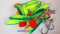 Kopyto Shads x 10, with jig heads - soft lures for pike, perch and zander