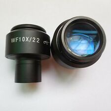 2pcs of 10X Wide Field 23.2mm Mounting Microscope High Eye Point Eyepiece