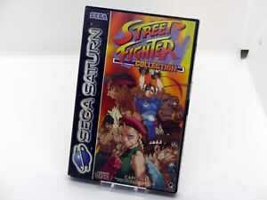 SEGA SATURN - STREET FIGHTER COLLECTION - AS NEW WITH SEAL