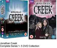 Jonathan Creek Complete Series 1-5 DVD Box set Christmas Specials 1 2 3 4 5 New