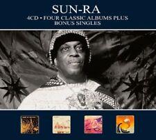 Sun Ra - 4 Classic Albums Plus [New CD] Digipack Packaging, Germany - Import