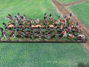28mm awi British Grenadiers full lot, black powder, sharpes practice