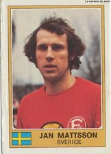 N°280 JAN MATTSSON EURO FOOTBALL 76 STICKER PANINI FIGURINE SWEDEN SVERIGE