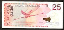 Netherlands Antilles 25 Gulden 2011 Pr- Vf  RAR note
