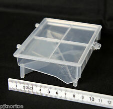 175ml Reagent Basins - Large Capacity Pack of 10 hinged lid with graduations
