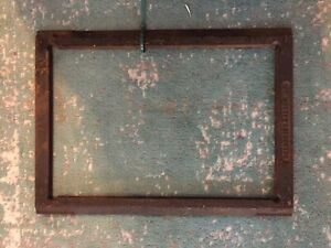 Kluge / Brandtjen 10x15 Letterpress Chase - USED - No Repairs!