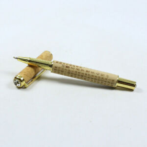 Hand-crafted Boxwoodpens -Ball Point and pen replacement pack h031