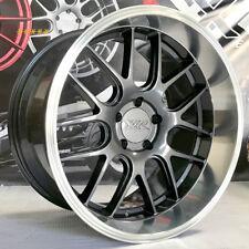 XXR 530D Wheels 19x9 10.5 +20 Graphite Grey Deep Dish Lip Rims Staggered 5x114.3