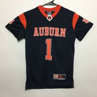 Auburn Tigers Youth Children Football Jersey Number 1 Navy By Colosseum - NWT