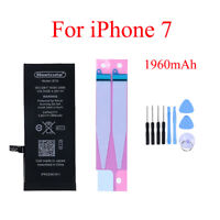 1960mAh Mobile Phone Internal Battery For Apple iPhone 7 Replacement