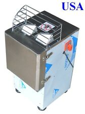 220V Electric Potato Slicer Cutting Machine Commercial Food Processor
