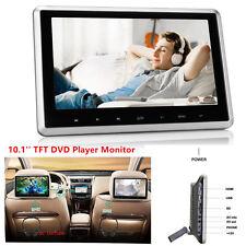 "10"" TFT Rear-Seat Monitor Headrest Car DVD Player Touch Botton Handsfree HDMI FM"