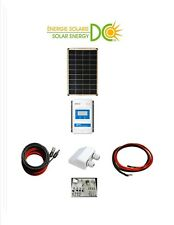 Solar Panel KIT Panneau Solaire 100 Watt Poly MPPT 30A Charger Cable Z Bracket