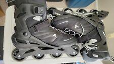 Rollerblade Zetrablade Inline Skates - Black - size 11 - with extras