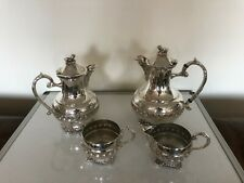 STUNNING 4 PIECE SILVER PLATED TEA/ COFFEE SERVICE   (SPTCS AAA)