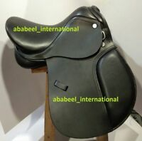 Jumping Leather Saddle  All Purpose English Mini Pony