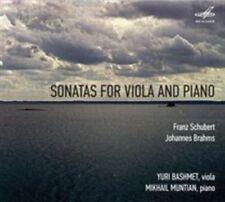 Schubert & Brahms: Sonatas for Viola and Piano, New Music