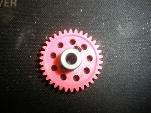 PARMA/PSE Pink 34T 48P SLOT SPROCKETS Spur Gear-NEW-slot car FREE Shpg