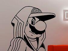 Super Mario Vinyl Decal Video Game Wall Sticker Nintendo Art Nursery Decor 4eedc