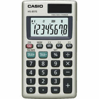 CASIO POCKET CALCULATOR WITH TAX CALCULATIONS - HS85TE