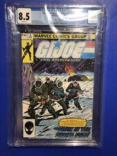 G.I. JOE:A Real American Hero #2 CGC 8.5 1ST KWINN 2nd Print Marvel Comics 1982