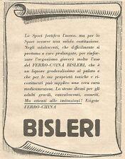 W7275 Ferro-China BISLERI - Pubblicità del 1932 - Old advertising