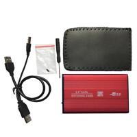 Hard Drive External Backup Portable Desktops Laptops Red Wd Black Case Plus Sata