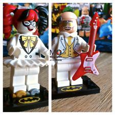 71020 DISCO HARLEY QUINN #1 ALFRED PENNYWORTH #2 LEGO BATMAN MOVIE Series 2 CMF