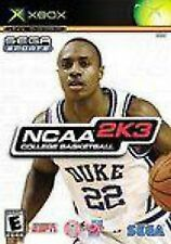 NCAA College Basketball 2K3 2003 NEW factory sealed black label XBOX