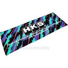 HKS 51007-AK205 HKS Block Logo Splash Graphics Sports Towel Genuine JDM