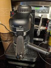 Krups Espresso IL Primo Coffee Maker 972 Cappuccino Machine Black 4-Cup