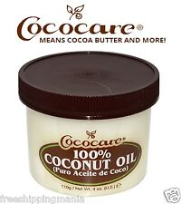 COCOCARE 100% DEEP HAIR CONDITIONER COCONUT OIL 4 OZ. All Natural. Made in USA