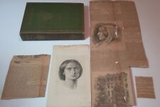 Antiquarian Middlemarch Hardback by George Elliot w/News Clippings from 1897