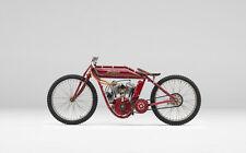 "1920 Boardracer Indian Motorcycle  8 x 10""  Photo Print"