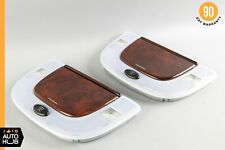 00-06 Mercedes W220 S600 S65 Rear Reading Dome Light Mirror Left & Right Wood