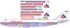 American hybrid AA's first Boeing 747-100 decals for Revell 1/144 kit