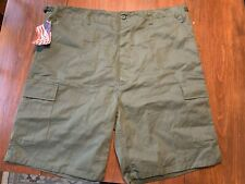 Men's Rothco's BDU Green U.S. Military Shorts, size X-Large NWT