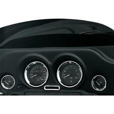 Drag Specialties Chrome Indicator Light Bezel for 96-13 Electra/Street Glide