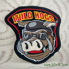 SEEN MOVIE WILD HOGS arm JACKET CHEST PATCH Applique Embroidered Motorcycle