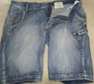Mens FOX JEANS DENIM SHORTS   Size 40