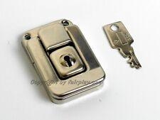 Akkordeon Kofferschloss schmal mit 1 Schlüssel, mehrere verfügbar