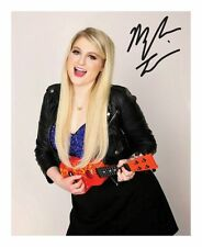 MEGHAN TRAINOR AUTOGRAPHED SIGNED A4 PP POSTER PHOTO 1