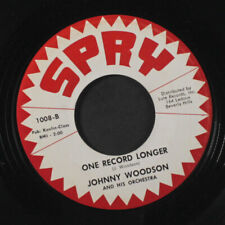 JOHNNY WOODSON: Don't Say Goodbye / One Record Longer 45 Vocal Groups