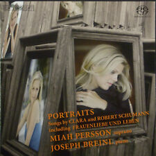 CD MIAH PERSSON - portraits, songs by Clara and Robert Schumann, SACD