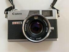 Canon 35Mm Canonet Ql17 G-Iii Giii Camera Rangefinder 40Mm 1:1.7 W/New Battery