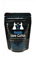 Kendo Vape zertifizierte japanische Muji Watte/Organic Cotton für Selbstwickler